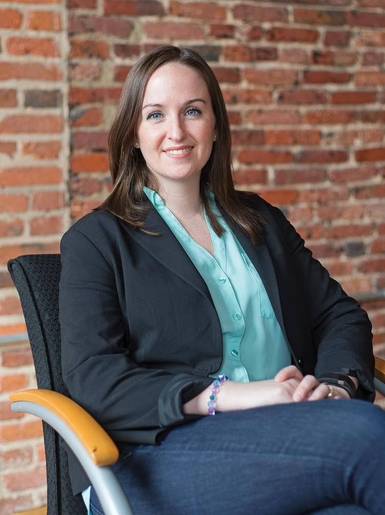 Jess Gartner is founder and CEO of Allovue, an ed-tech company in Baltimore's Emerging Technology Center. The startup won Best New Incubator Company at the Maryland Incubator Company of the Year awards.