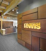 Lease Crutcher Lewis made extensive use of reclaimed wood when it rehabilitated the Culver building in downtown Portland for its new offices.
