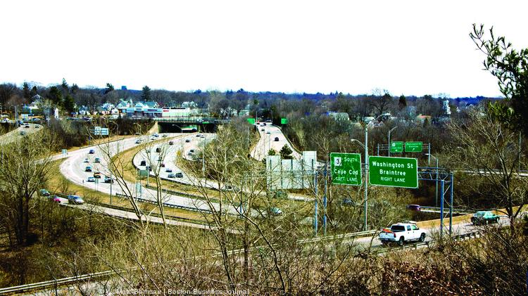State highway officials are considering a possible toll lane down Route 3 from the Braintree Split to Rockland.