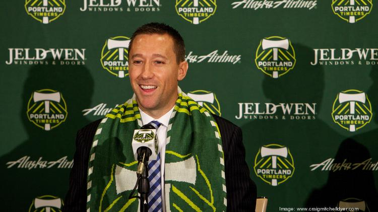 SportsBusiness Journal named the Portland Timbers as one of the six finalists for its Sports Team of the Year award. The honor comes after the team reached Major League Soccer's Western Conference finals behind first-year coach Caleb Porter, the league's Coach of the Year.