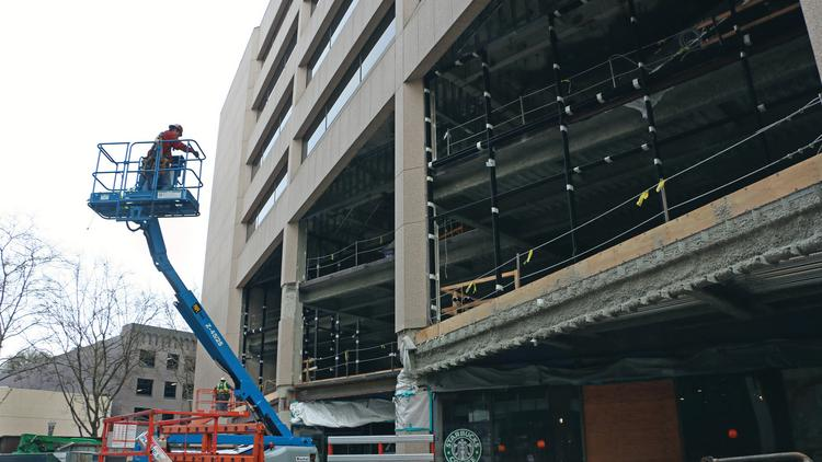A renovation to U.S. Bancorp Tower will add about 15,000 square feet of rentable space to the downtown office tower.