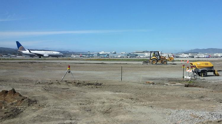 Crews have already begun work in preparation of the runway safety project that will lead to the closure of two of the airport's four runways this summer.