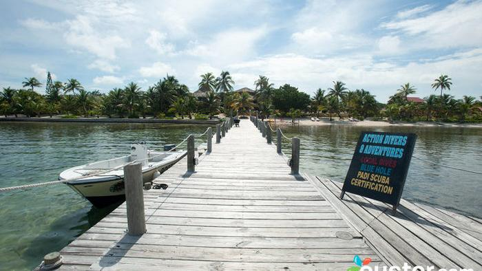 Portofino Beach Resort, Half Moon Caye, Belize