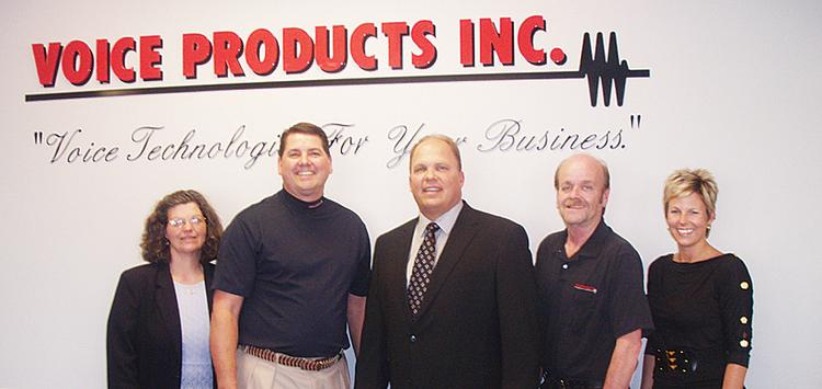 From left: Donna Dill, IT manager; Dean Tullis, president and CEO; Stuart Peters, vice president, owner, founder; David Essary, IT manager; Colette Dryden, accounting supervisor.