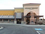 Above is the newly opened Corner Bakery Cafe in Overland Park.