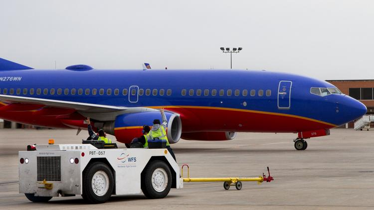 Southwest Airlines announced a record profit sharing will be paid this year.