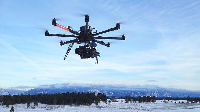 Greensboro-based K2 Productions uses a Cinestar 8 radio-controlled octocopter for a variety of filming projects, but is restricted to operations at low altitudes over private property.
