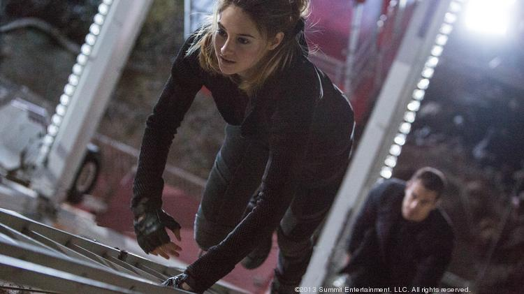 """""""Divergent"""" is poised to climb as high as $60 million at the box office this weekend."""
