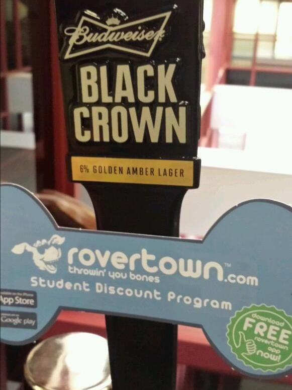 Budweiser Black Crown visits RoverTown