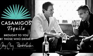 Casamigos Tequila founders Rande Gerber, left, and George Clooney have a new distribution deal for the brand.