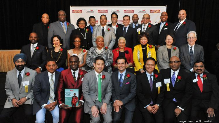 The Washington Business Journal honored its 2014 class, its eighth, of Minority Business Leaders at a reception Thursday evening at the Ritz-Carlton in the District.