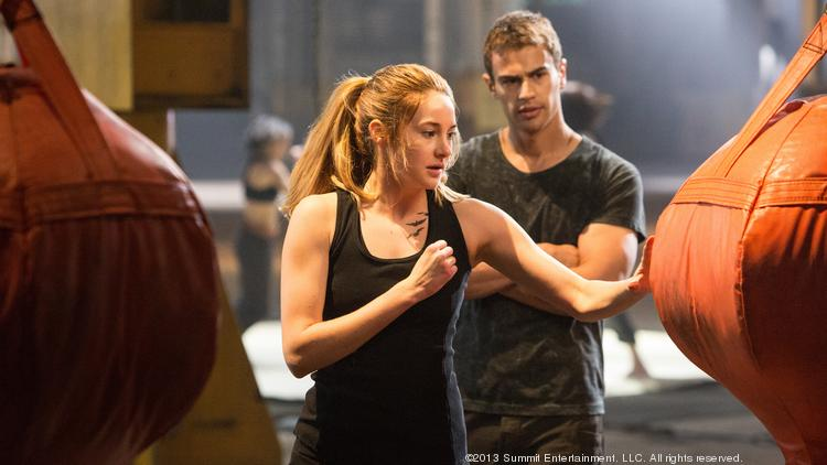 """""""Divergent"""" is an action-packed romantic fantasy with an earnest message."""