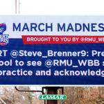 RMU takes to Twitter, digital billboards to update basketball fans