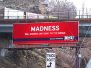 Another example of the RMU digital billboard.
