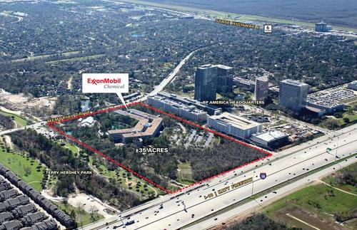 Former Exxon Mobil Chemical Co Campus Sold To Be Developed Into Mixed Use Houston Business