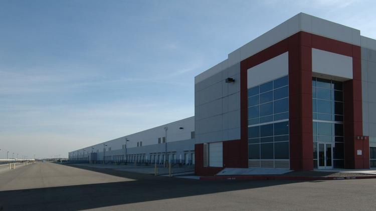 USAA Realco's most recent acquisition includes this industrial complex in Stockton, Calif.