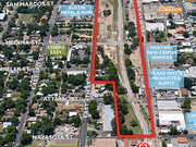 As many as 800 apartments, shops and a grocery store will likely fill eight vacant blocks near I-35 and Fifth Street.