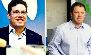 Clint Jones, left, and Brandon Cruz founded GoHealth as a way to help consumers find health insurance online. The six-year-old company has benefited greatly from Obamacare.
