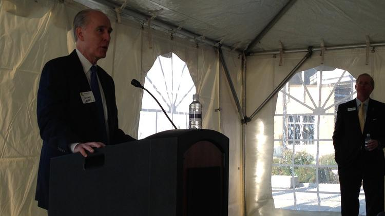 Johnny Loper, managing partner for Womble, Carlyle, Sandridge & Rice law firm's Raleigh office, announced Monday morning that the firm will be relocating from the Wells Fargo Capitol Center tower to the new Charter Square office tower in downtown Raleigh as the new building's anchor tenant.