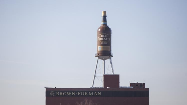 The Brown-Forman corporate headquarters in Louisville.