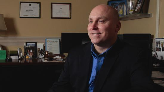 Brent Cooper is the new interim president of the Northern Kentucky Chamber of Commerce.