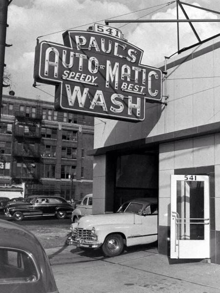 Paul's Auto-Matic Wash opened in Detroit, MI. in 1947.