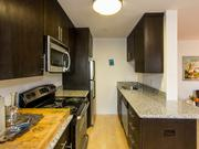 Upgrades at apartments at H and 25th streets included new cabinetry and floors.