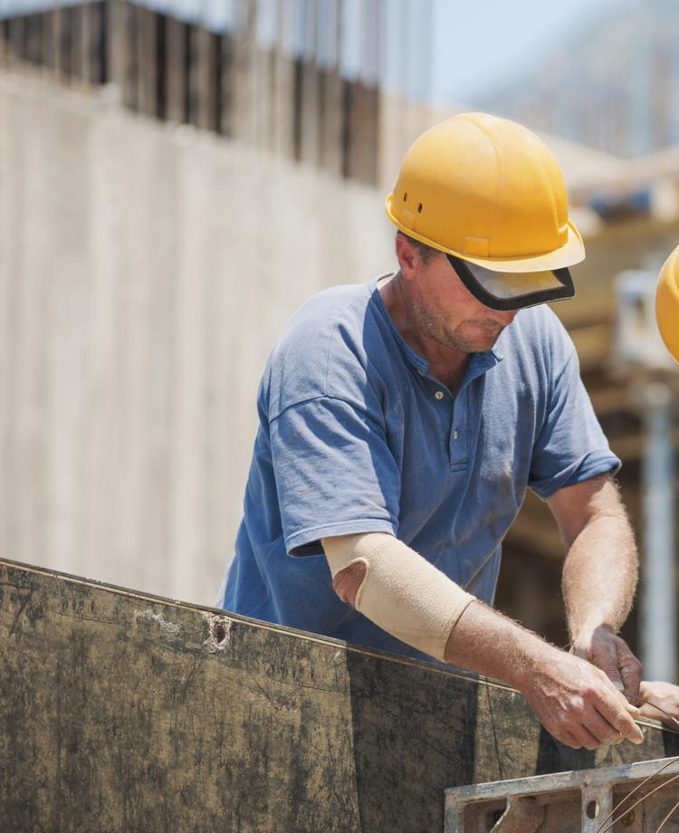 The number of temporary construction jobs is expected to grow in 2014.