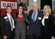 John Geisen of KRES Commercial, Darcie Lunsford of Butters Construction & Development, and Cushman & Wakefield's Paul Waters and Caroline Fleischer.