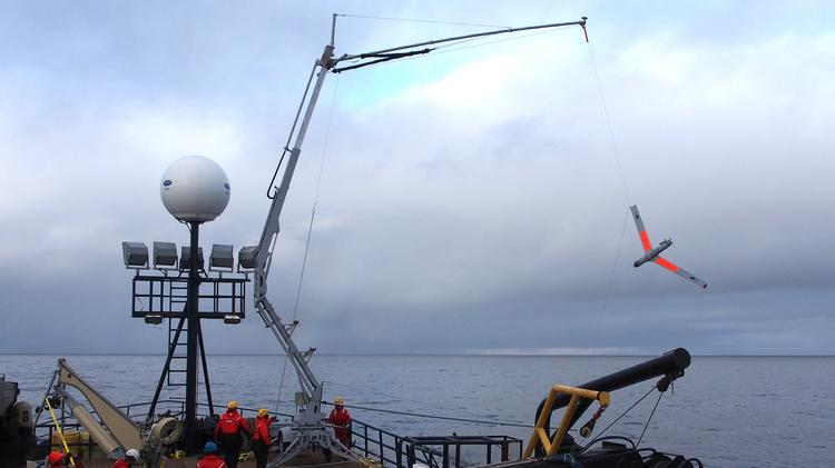 Insitu is operating the nation's only FAA-permitted commercial drone flights, in the remote seas north of Alaska, looking for moving sea ice and marine mammals.