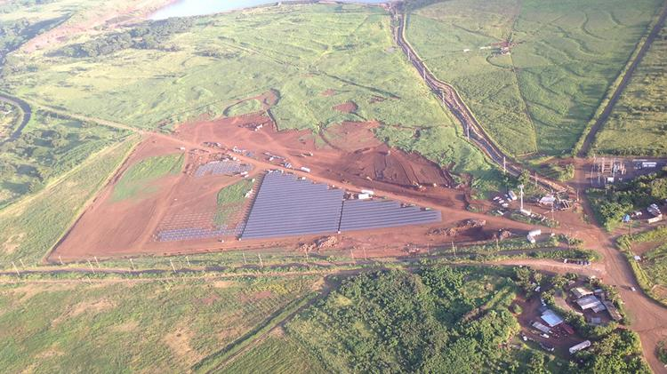 The Kauai Island Utility Cooperative's  $40 million, 12-megawatt solar energy facility on Kauai is expected to be completed in July, according to developer SolarCity.