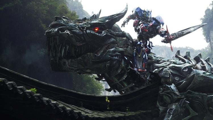 """Mark Wahlberg was on-hand at CinemaCon Monday evening to introduce an extended look at """"Transformers: Age of Extinction."""""""