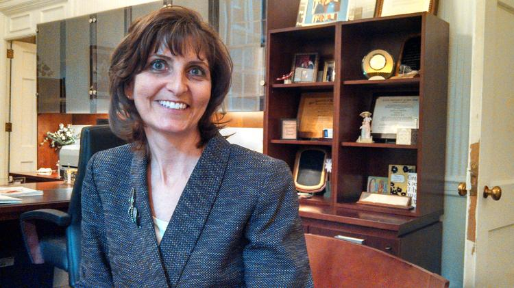 Martha Asselin served as vice president of student affairs before becoming interim president of Schenectady County Community College