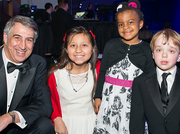 Louis J. DeGennaro, left, pictured with three leukemia survivors honored at the 2014 Leukemia Ball in D.C. March 22. DeGennaro was named interim CEO and president of the Leukemia & Lymphoma Society in February.