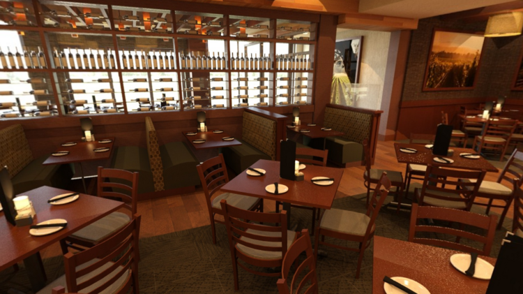 A Rendering Of The New Cooper S Hawk Winery Restaurant In Waterford Lakes