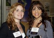 Stiles Corp.'s Jessica Joly and Liz Glaria.