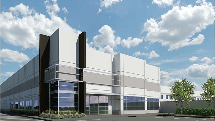 The Airtex Distribution Center broke ground this month and is scheduled for completion later this summer.