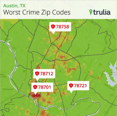Trulia Warns Homebuyers Of Austin S Worst Zip Codes For Crime