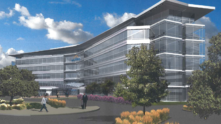 Workday Inc. could add an additional 430,000 square feet in a new office building in Pleasanton.