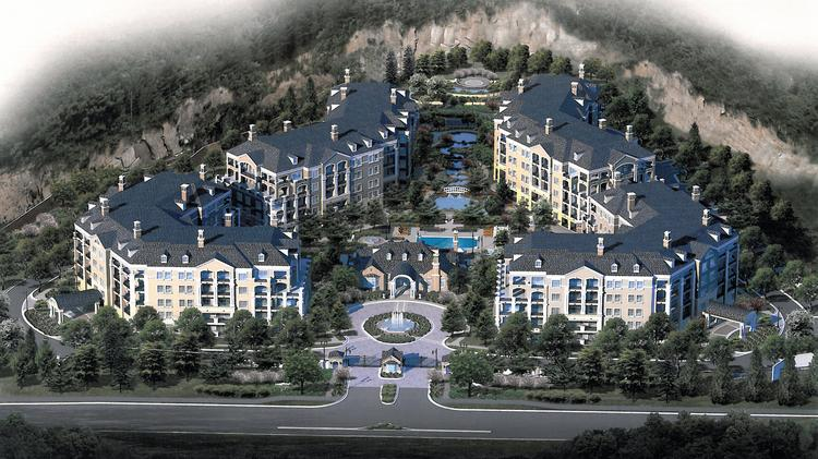 Quarry Springs Associates has started construction on the first residential phase of The Estate Condominiums at Quarry Springs, to include 50 units slated for completion in fall 2015.