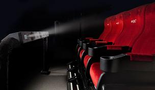 4DX adds sensory effects including motion, wind, strobe, fog, vibration, mist, rain and scents to films and alternative content.