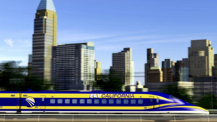 """A """"train to nowhere"""" is what critics have rather fairly called the bullet train's Central Valley segment, and they are calling for the prioritization of the Burbank-to-Palmdale section."""