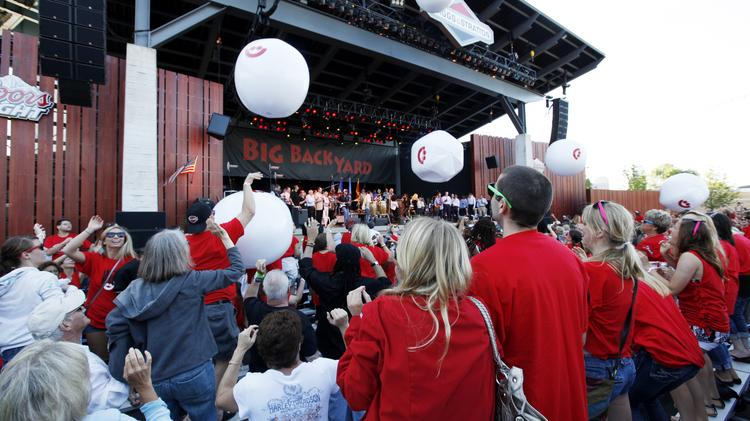 The Briggs & Stratton Big Backyard stage at Summerfest, which is getting its own radio station via a mobile phone app.