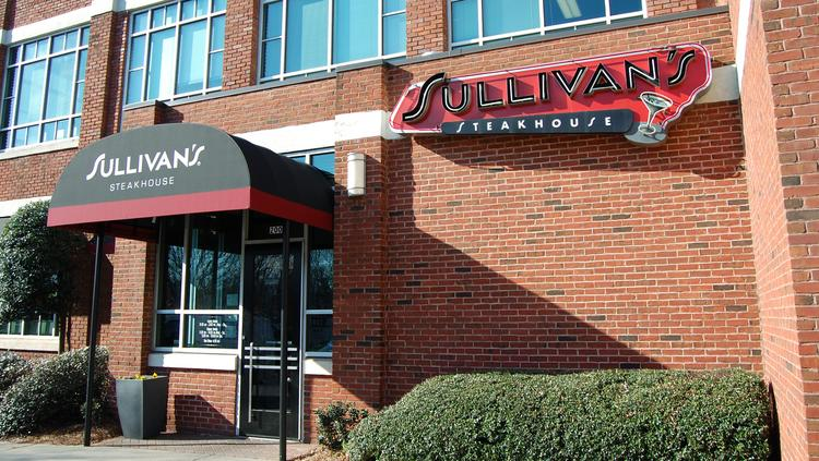 Sullivan's Steakhouse in South End recently underwent major renovations to update and enhance its bar and lounge, main dining area, private dining rooms and patio.