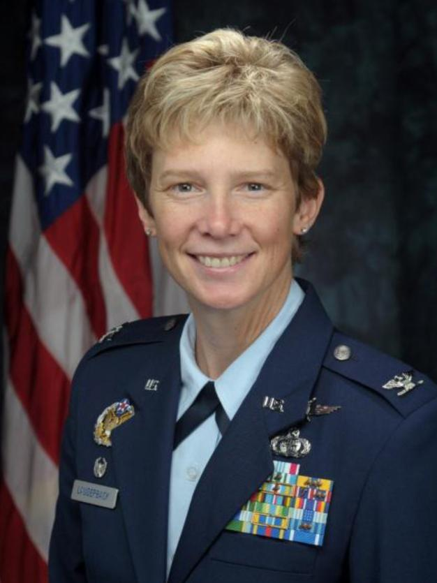 Col. Leah Lauderback will take command of NASIC next week.