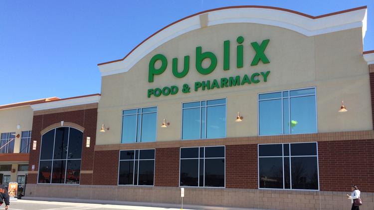 Publix Super Markets Inc. was named the top grocery brand in the South in a recent poll. The Lakeland, Fla. grocer operated more than 1,078 stores, including five in the Charlotte market.