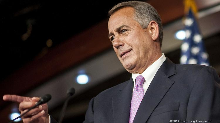 House Speaker John Boehner reassures Republican lawmakers that he has no plans to push them to approve immigration reform.