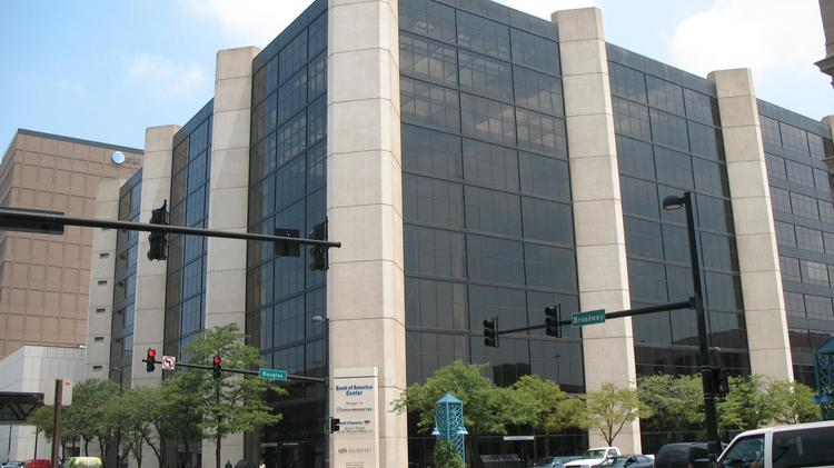Bank of America is significantly downsizing its space at 100 N. Broadway, now called Bank of America Center. Ruffin Properties hasn't decided if it will change the building's name with the bank's downsizing.