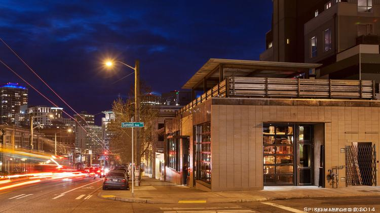 The new Mezcaleria Oaxaca restaurant on Capitol Hill features a 100-seat covered rooftop deck.