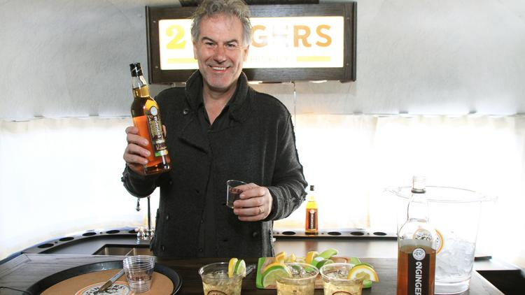 Kieran Folliard is at the tail end of a 14-city tour to drum up interest for 2 Gingers, an Irish Whiskey brand.